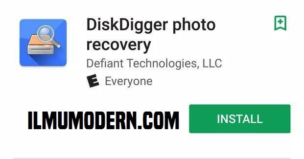 Gambar DiskDigger