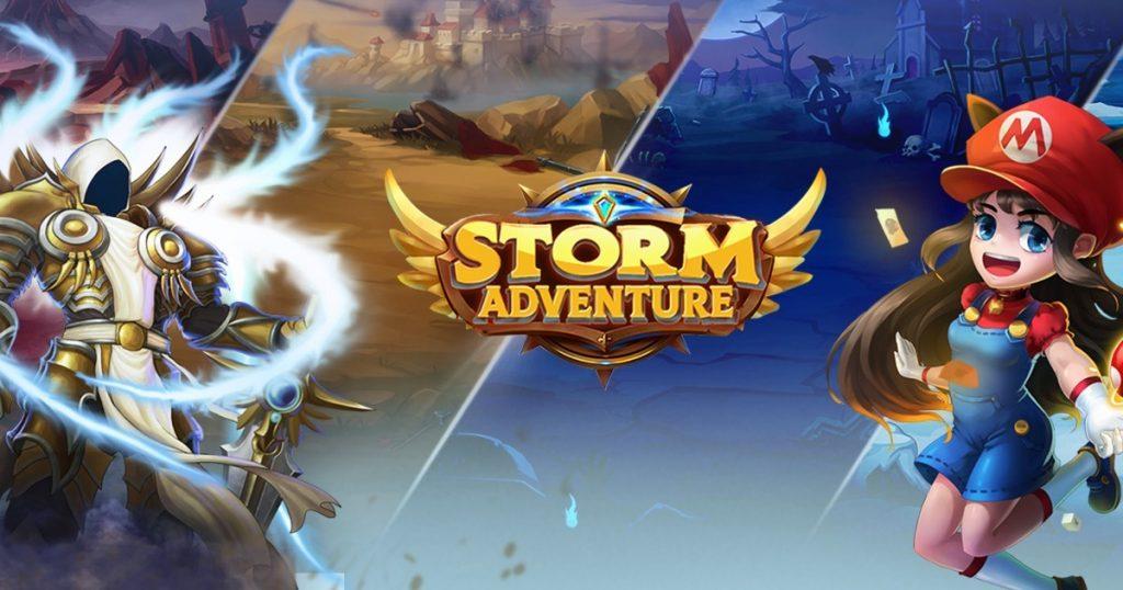 Download Game RPG yang seru dibawah 100mb Storm Adventure