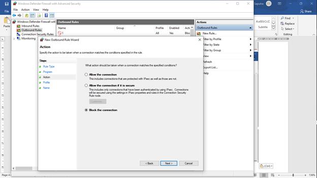 Tahapan Memblokir Software Dari Internet tanpa bocor dan gampang