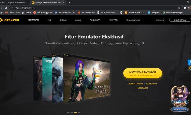 Ini Dia tombol settingan dari LDPlayer untuk game Free Fire di PC